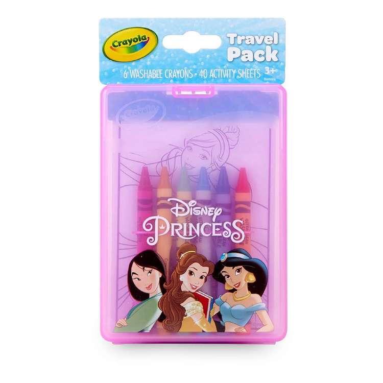 Crayola On-The-Go Disney Princess Travel Pack