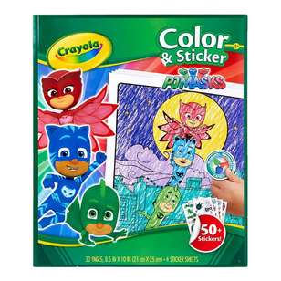 Crayola PJ Masks Colour & Sticker Book