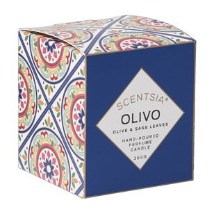 Scentsia European Holiday Olivio Candle