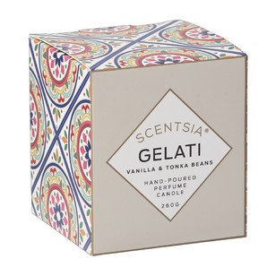 Scentsia European Holiday Gelati Candle
