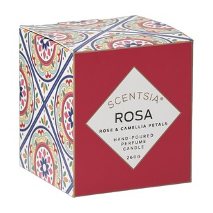 Scentsia European Holiday Rosa Candle