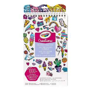 Crayola Color Your Own! Sticker Book