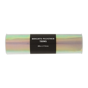 Brights Opaque Holographic Plastic Trim
