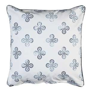 Ombre Home Weathered Coastal Flower Cushion