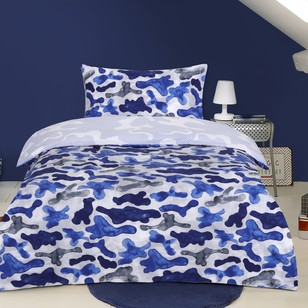 Kids House Urban Camo Quilt Cover Set