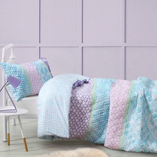 KOO Kids Scales Quilt Cover Set