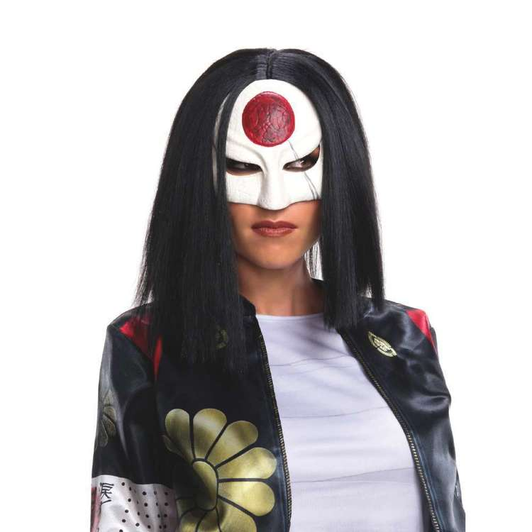 DC Comics Suicide Squad Katana Adult Wig Multicoloured Adult