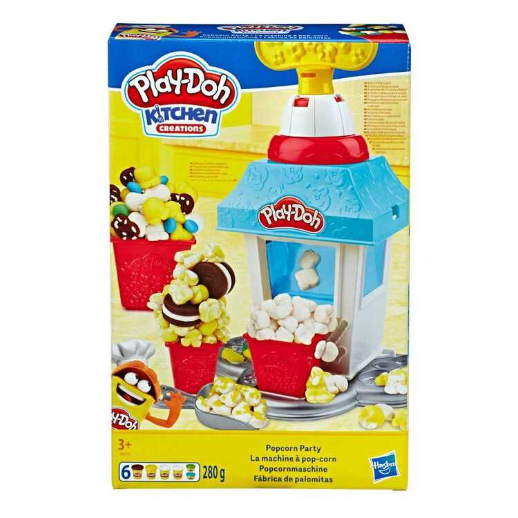 Playdoh Kitchen Creations Popcorn Party