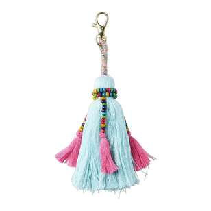 Havana Single Beaded Tassel