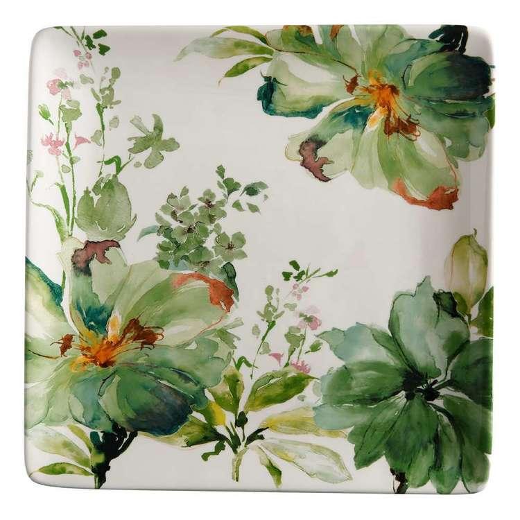 Casa Domani Botanical Gift Boxed 32 cm Square Platter