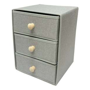 Living Space Linen Foldable Drawer
