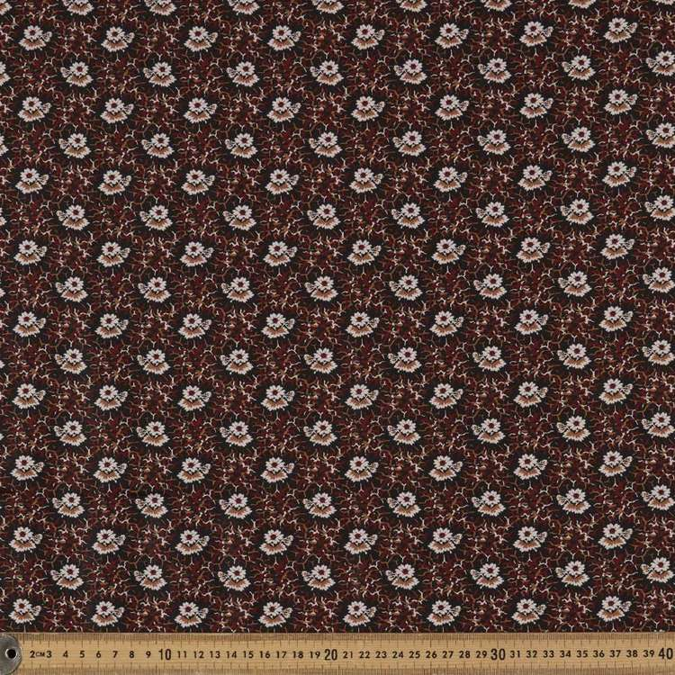Washington St Studio French Paisley Flower Cotton Fabric