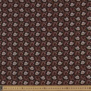 Washington St Studio French Paisley Flower Cotton Fabric