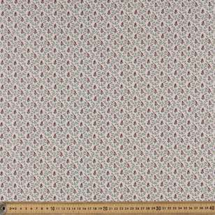 Washington St Studio French Paisley Vines & Buds Cotton Fabric