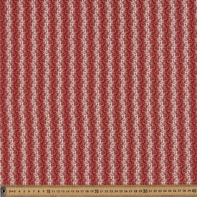 Washington St Studio French Paisley Scroll Cotton Fabric