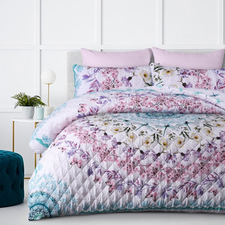 KOO Meadow Quilted Quilt Cover Set