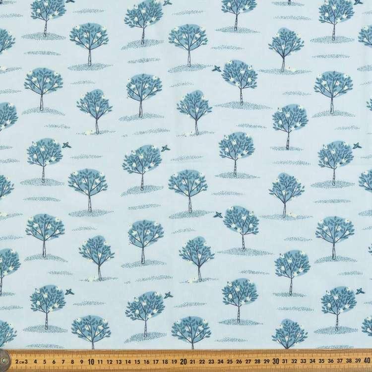Apple Tree Printed 138 cm Muslin Fabric