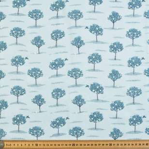 Apple Tree Printed Muslin Fabric