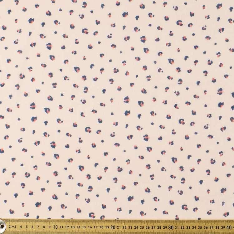 Baby Spot Printed 138 cm Muslin Fabric
