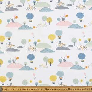 Playtime Printed Muslin Fabric