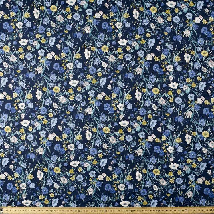 Fiori Printed Japanese Lawn Fabric