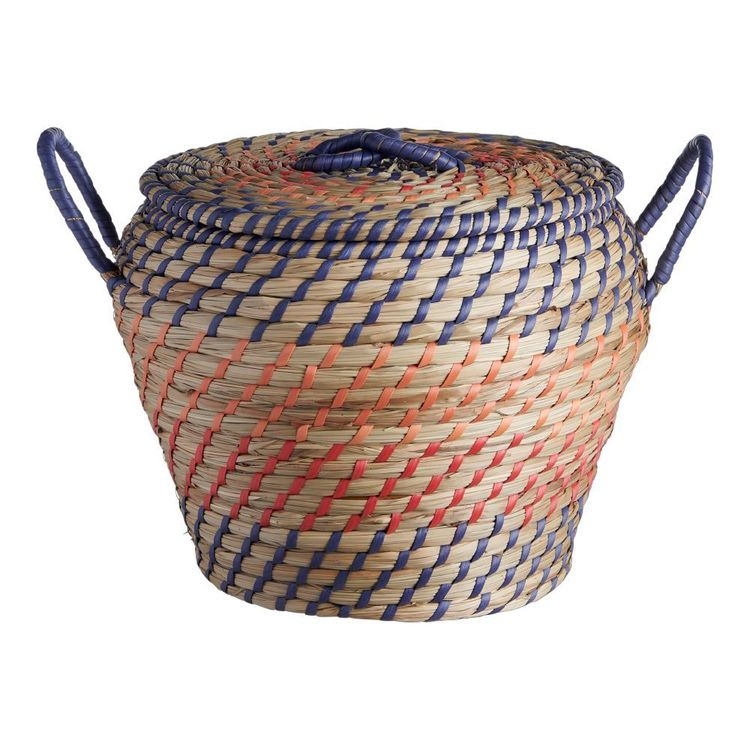 Living Space Seagrass Basket With Handles