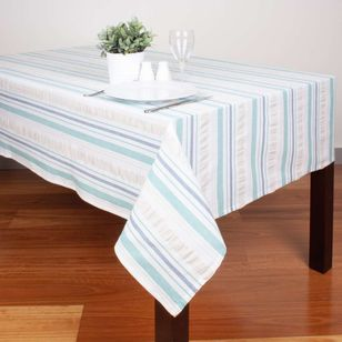 Dine By Ladelle Roxby Stripe Tablecloth
