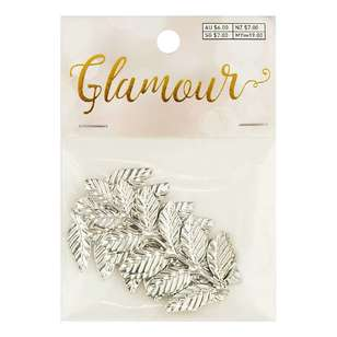 Ribtex Glamour Metal Leaves