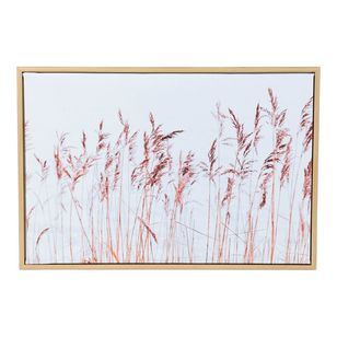 Ombre Home Weathered Coastal Grass Framed Canvas