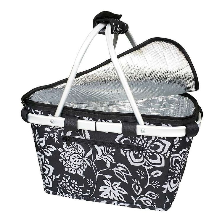 Sachi Camellia Insulated Carry Basket