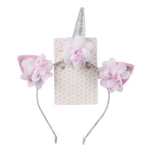 Unicorn Magic Headband Cat Ear Unicorn Floral