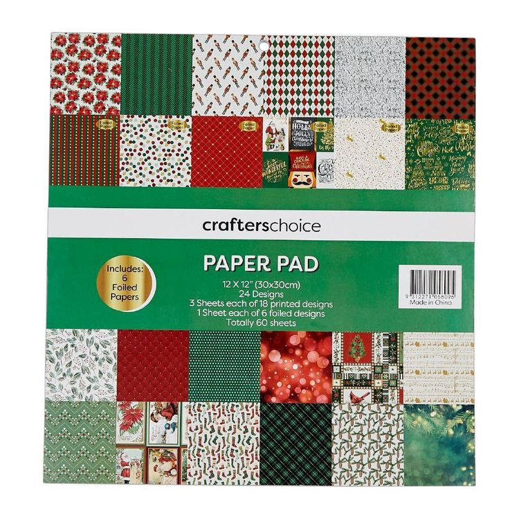 Crafters Choice Nostalgic Treasures 12 x 12 in Paper Pad