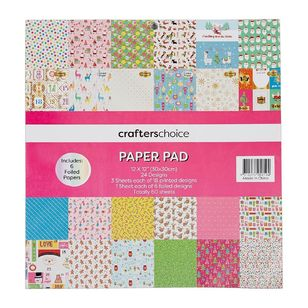Crafters Choice Festive Pop 12 x 12 in Paper Pad