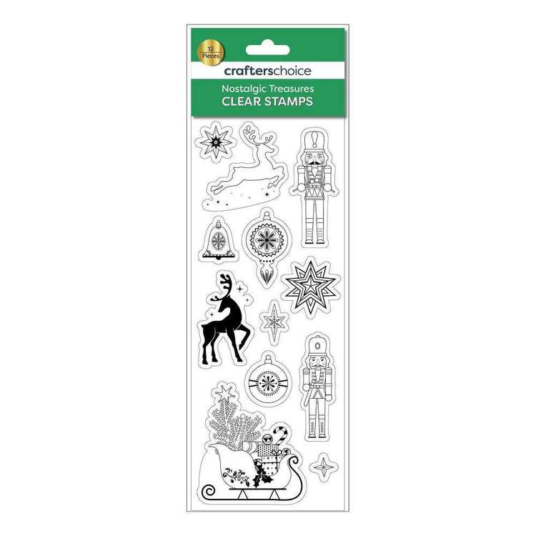 Crafters Choice Nostalgic Treasures Icons Stamp