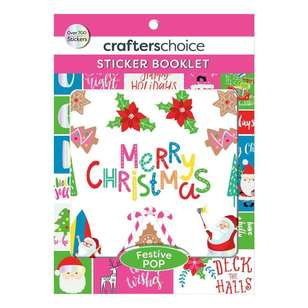 Crafters Choice Festive Pop Sticker Booklet