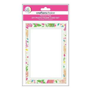 Crafters Choice Festive Pop Photo Frame Card Set