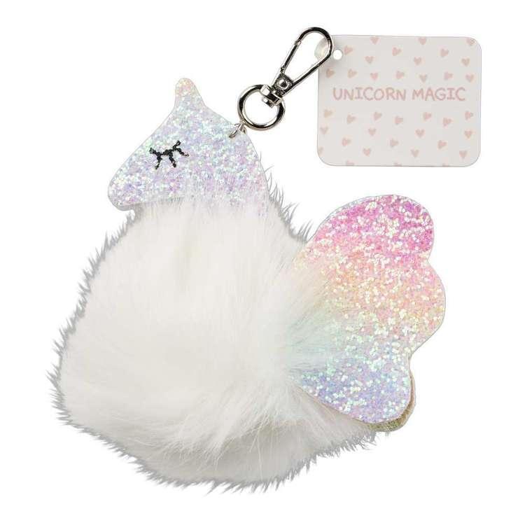 Unicorn Magic Keychain Glitter Unicorn