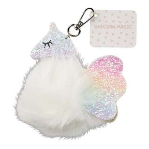 Unicorn Magic Keychain Glitter Unicorn