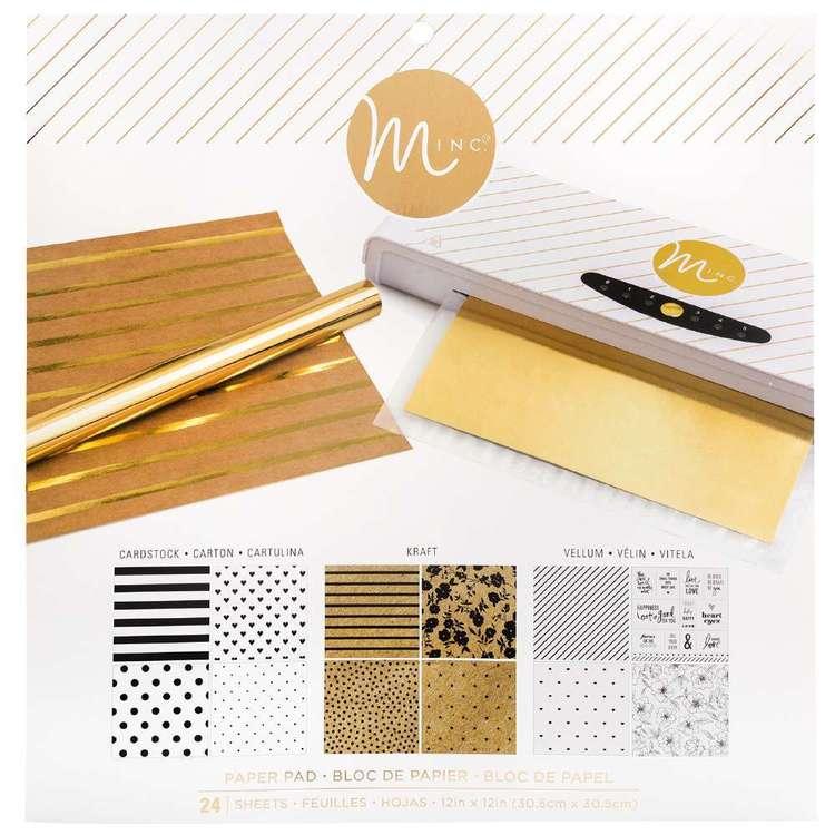 Heidi Swapp Minc 12 x 12 in Paper Pad