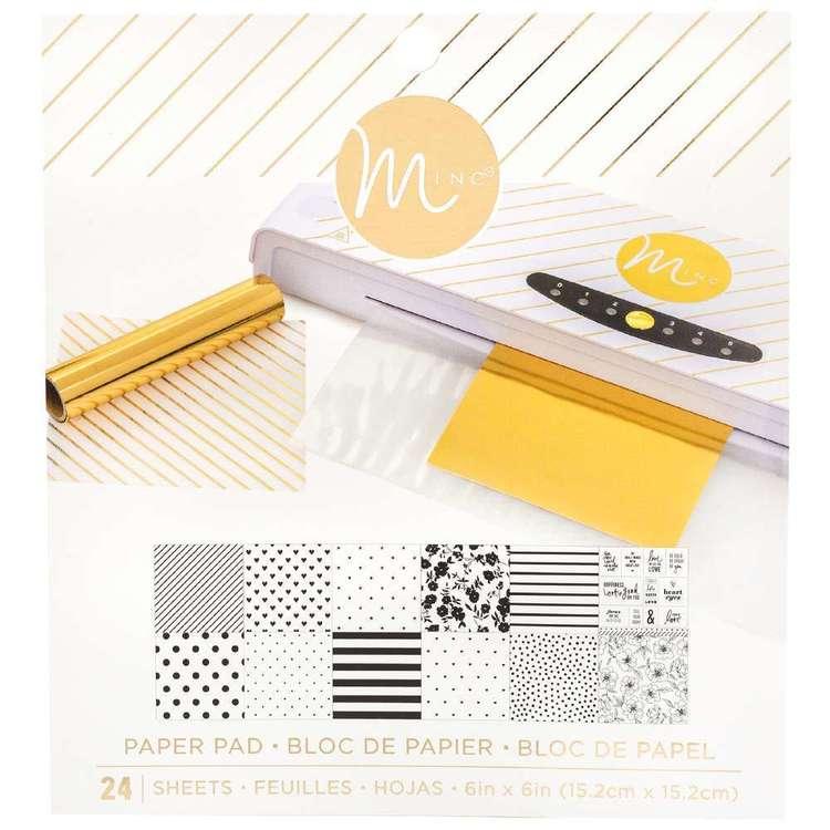 Heidi Swapp Minc 6 x 6 in Paper Pad