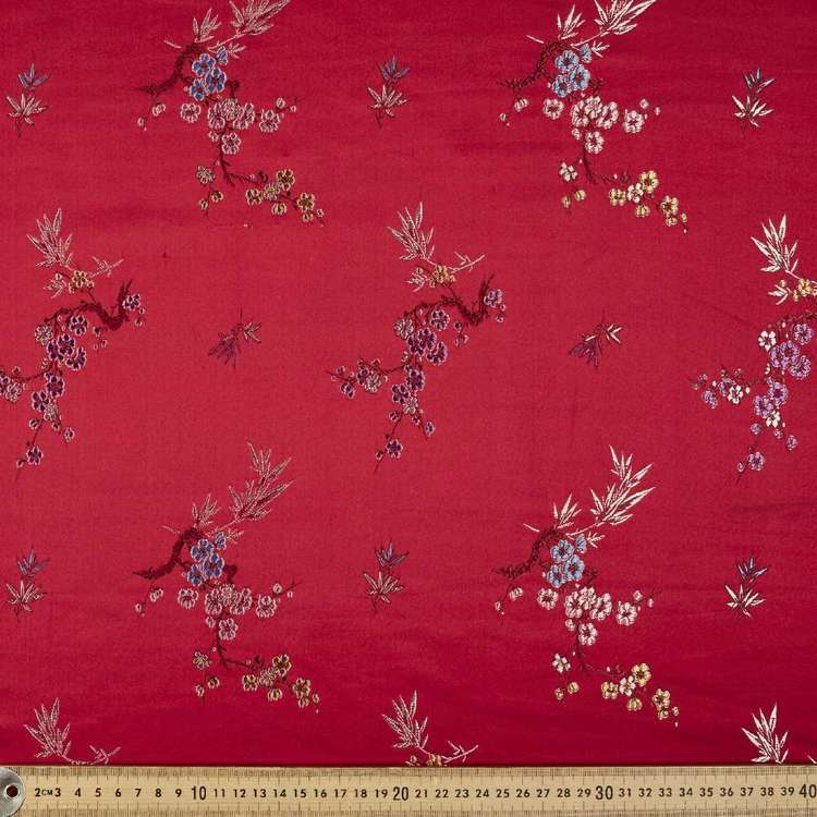 Oriental Brocade Fabric #2