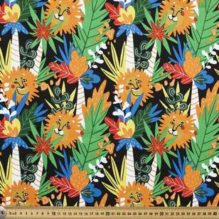 In The Jungle Printed Montreaux Drill Fabric