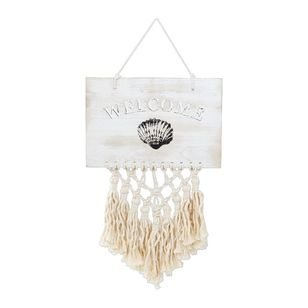 Ombre Home Weathered Coastal Welcome Hanging