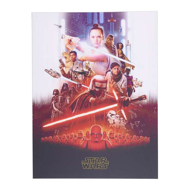 The Art Group Star Wars IX - Key Art Framed Canvas