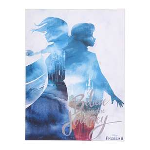 The Art Group Frozen II - Believe In The Journey Framed Canvas