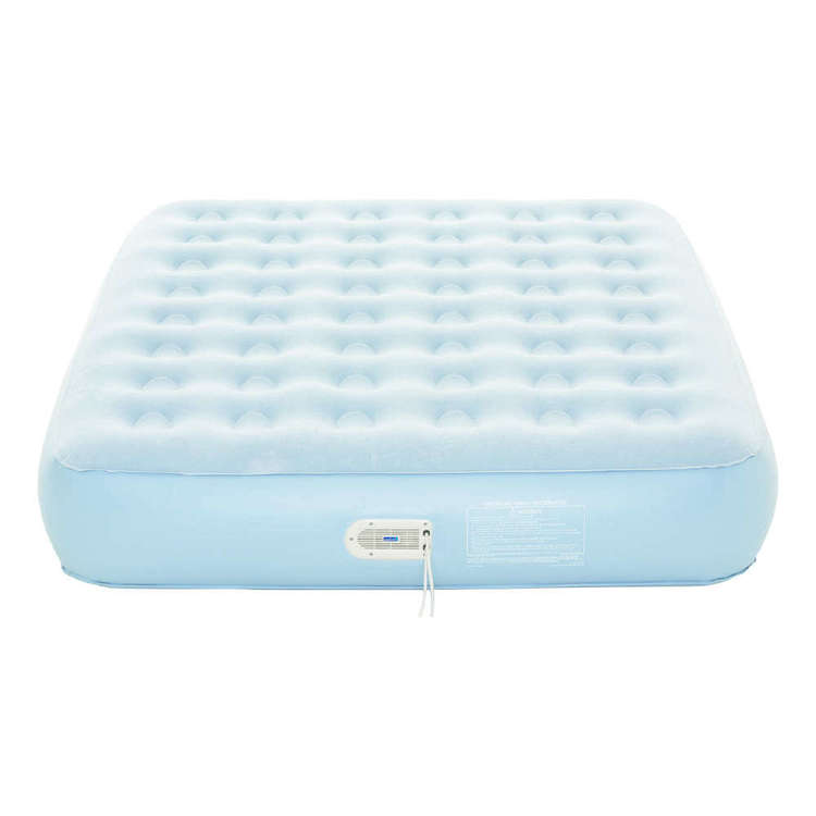Aerobed Extra Comfort Air Bed Blue & Grey