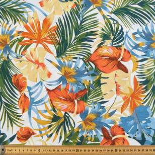 Islander Printed Cotton Linen Fabric