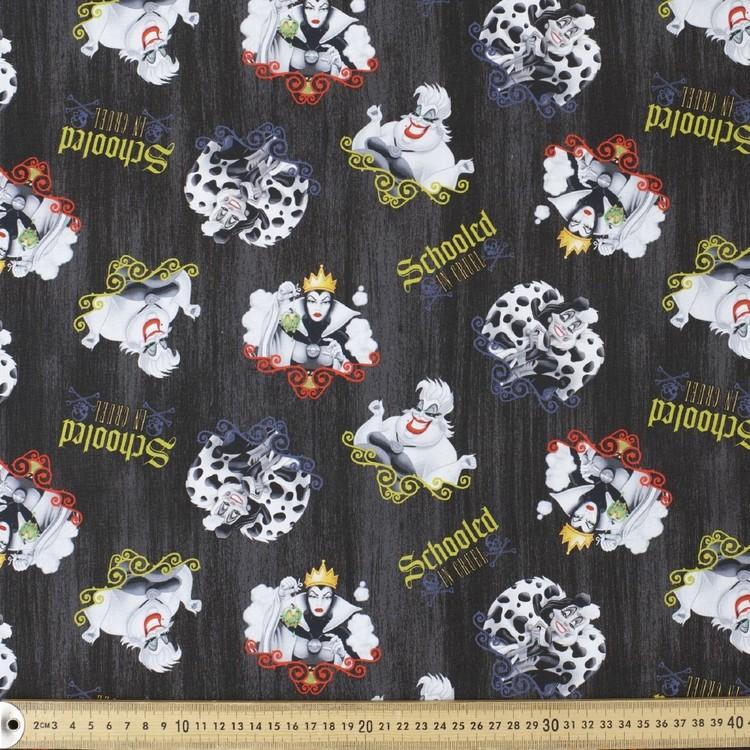 Disney Dark Disney Ursula Cotton Fabric