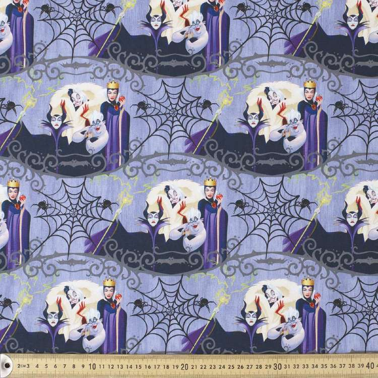 Dark Disney Evil Queens Cotton Fabric