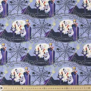 Dark Disney Evil Queens Cotton Fabric